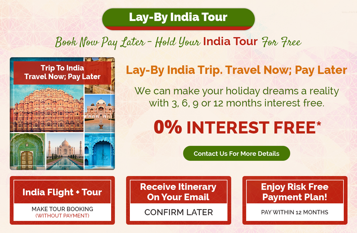 Lay By India Tour